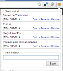 Sesiones Multiples